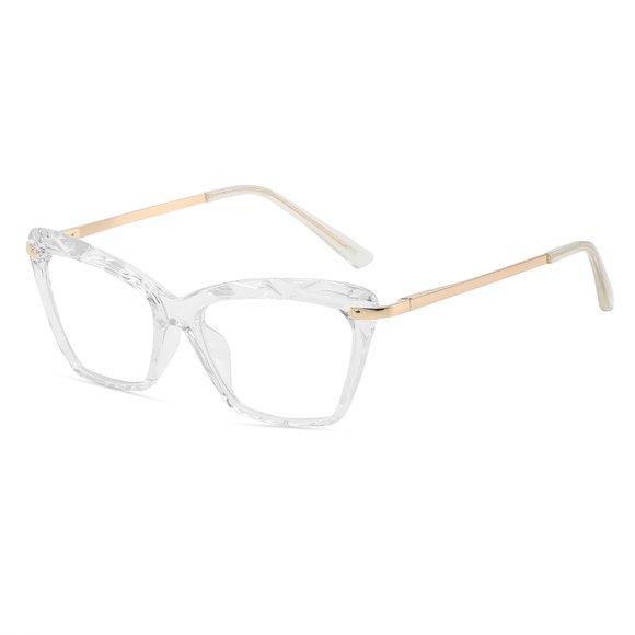 Elvin Mathews Crystal Clear Eyeglasses